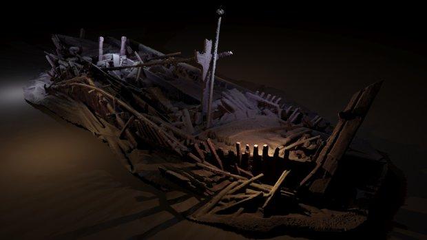 """На дне Черного моря обнаружено загадочное судно: """"провело там века и прекрасно сохранилось"""", фото"""