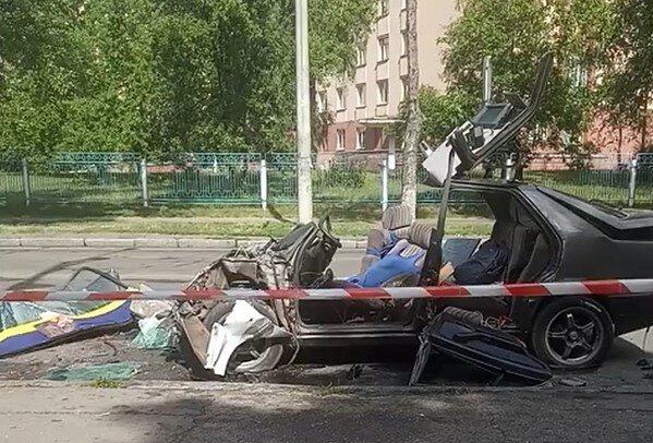 ДТП в Киеве. Фото: скриншот facebook
