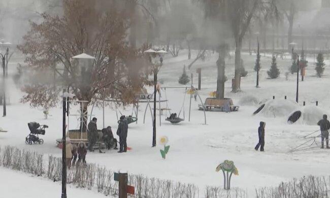 Зима. Фото: скриншот Youtube-видео