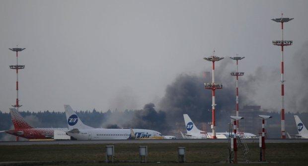 Паника и крики мольбы: переполненный самолет рухнул на землю, кадры