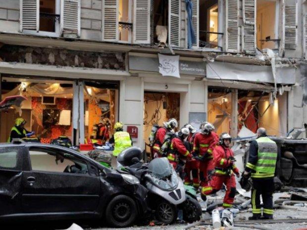 Появилось видео кошмарного взрыва в Париже: такого не увидишь даже в кино