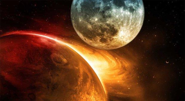 Луна угрожает жизни на Земле