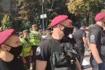 Столкновения в Киеве: полиция применила слезоточивый газ. Фото: скриншот YouTube