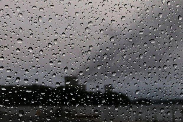 В Эстонии прошел черный дождь