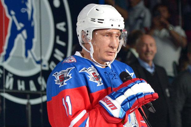 """Вселенский конфуз Путина высмеяли карикатурой: """"Сатира меткая, а этот горе-хоккеист - не очень"""""""