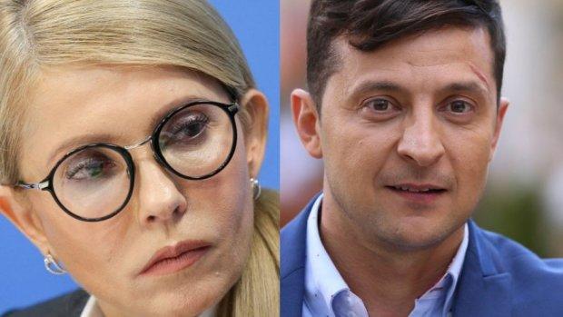 Зеленский жестко отреагировал на высказывание Тимошенко: «Она — это скисший, вчерашний борщ»