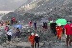 В Мьянме произошел обвал на нефритовой шахте. Фото: скриншот YouTube