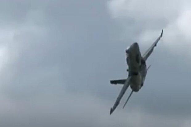 Авиакатастрофа под Киевом. Фото: скриншот Youtube-видео
