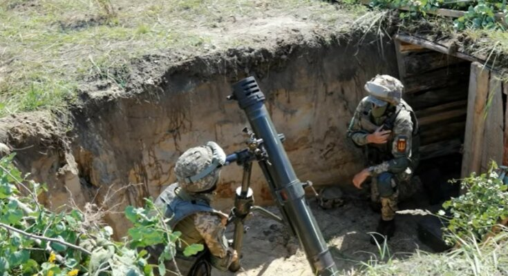 Война на Донбассе. Фото: скриншот Youtube-видео