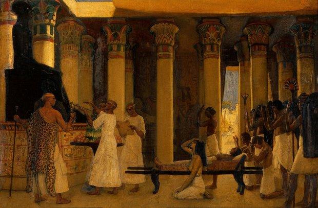 Ученые разрыли гробницу египетского жреца заваленную сокровищами