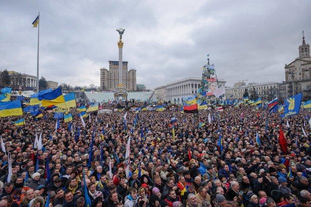Срочная новость! Украинцы выходят на Майдан, бойцы АТО в деле