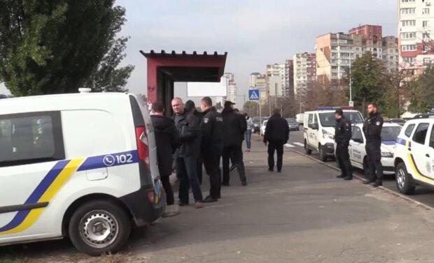 Полиция. Фото: скриншот Facebook-видео