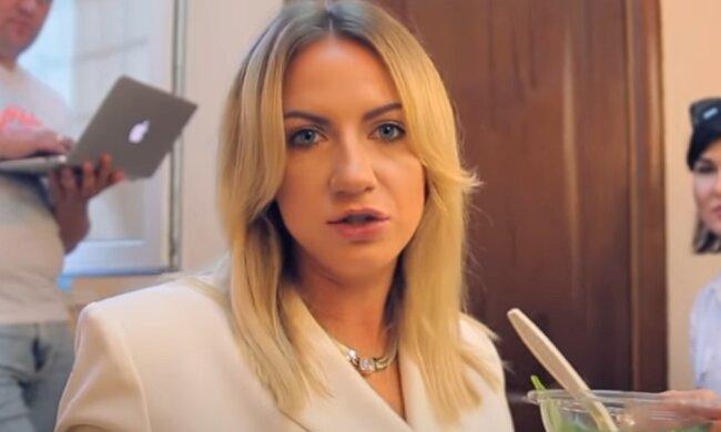 Леся Никитюк.  Фото: скриншот YouTube-видео