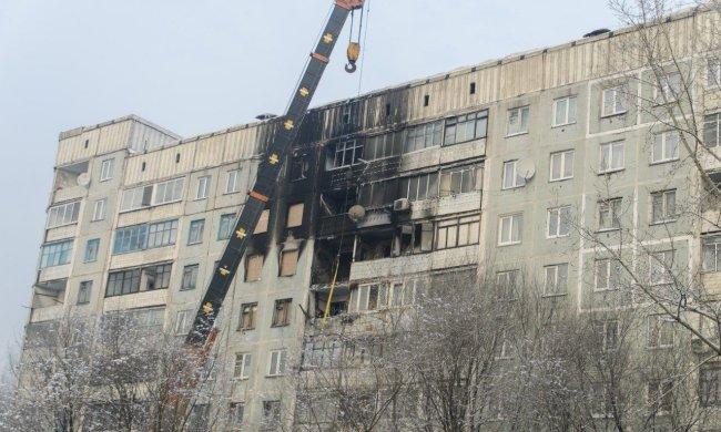 Киев сотряс взрыв, спасатели ищут пострадавших под завалами, люди остались без крыши над головой