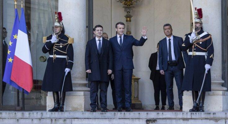 Зеленский, Путин и Меркель прибыли в Елисейский дворец: онлайн-хроника нормандской встречи