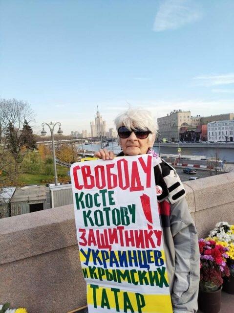В РФ прошли митинги в защиту Крыма и политзаключенных