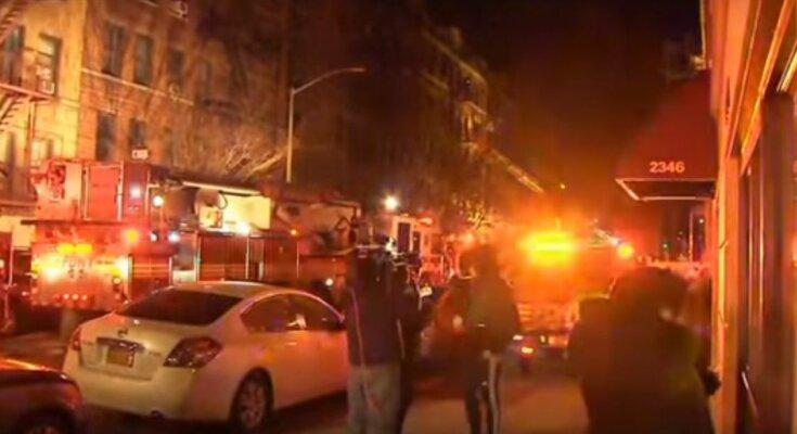 В метро Нью-Йорка вспыхнул пожар, есть жертвы