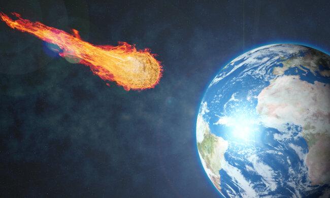 Ученые показали, что будет, когда метеорит столкнется с Землей