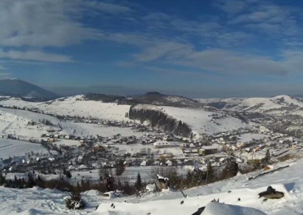 Зимние Карпаты. Фото: скриншот YouTube-видео