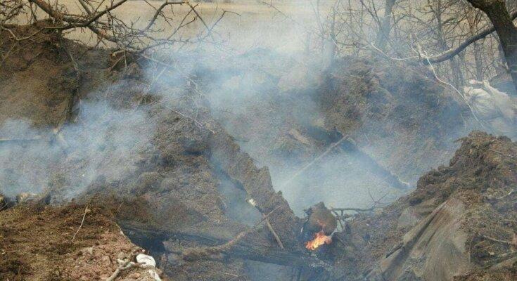 Наступление оккупантов на Донбассе: известно имя погибшего бойца