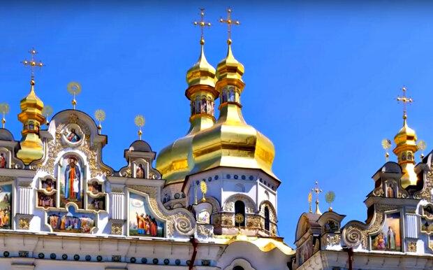 Православный храм. Фото: скриншот YouTube-видео.