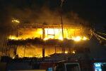 ЧП в Киеве: пылает крупный торговый центр, первые подробности