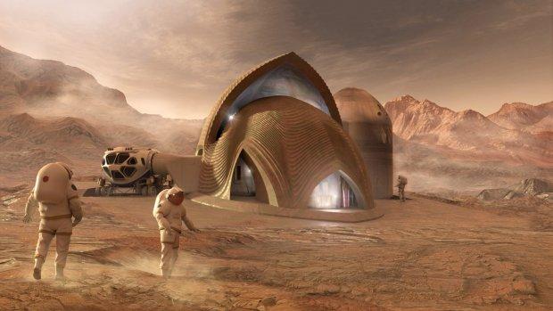 Ученые NASA показали идеальный дом для жизни на Марсе: теперь там можно поселиться, собирайте чемоданы