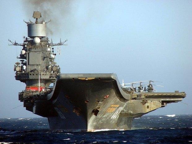 """""""Ад. Кузя"""" готовится к бою: российскому авианосцу позора сделали """"обрезание"""""""