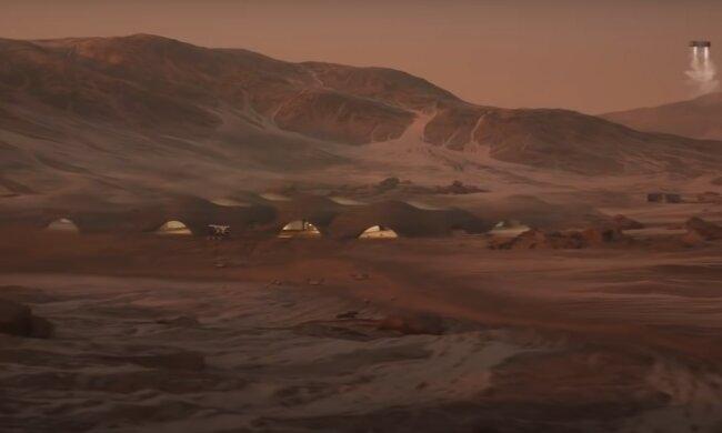 Колонизация Марса, скриншот YouTube