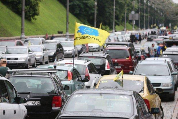 Черный день для «евробляхеров»: начался бунт, в центр Киева стягивают полицию