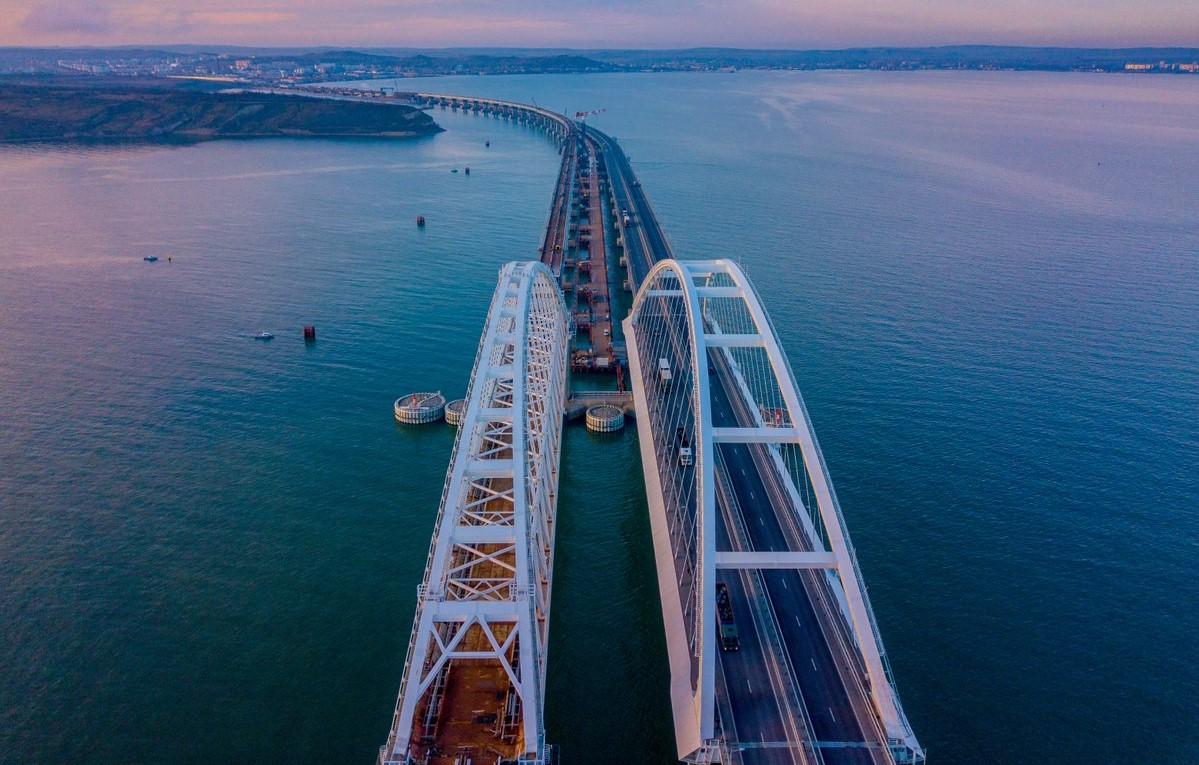 фото крымского моста с воздуха любят проводить своё