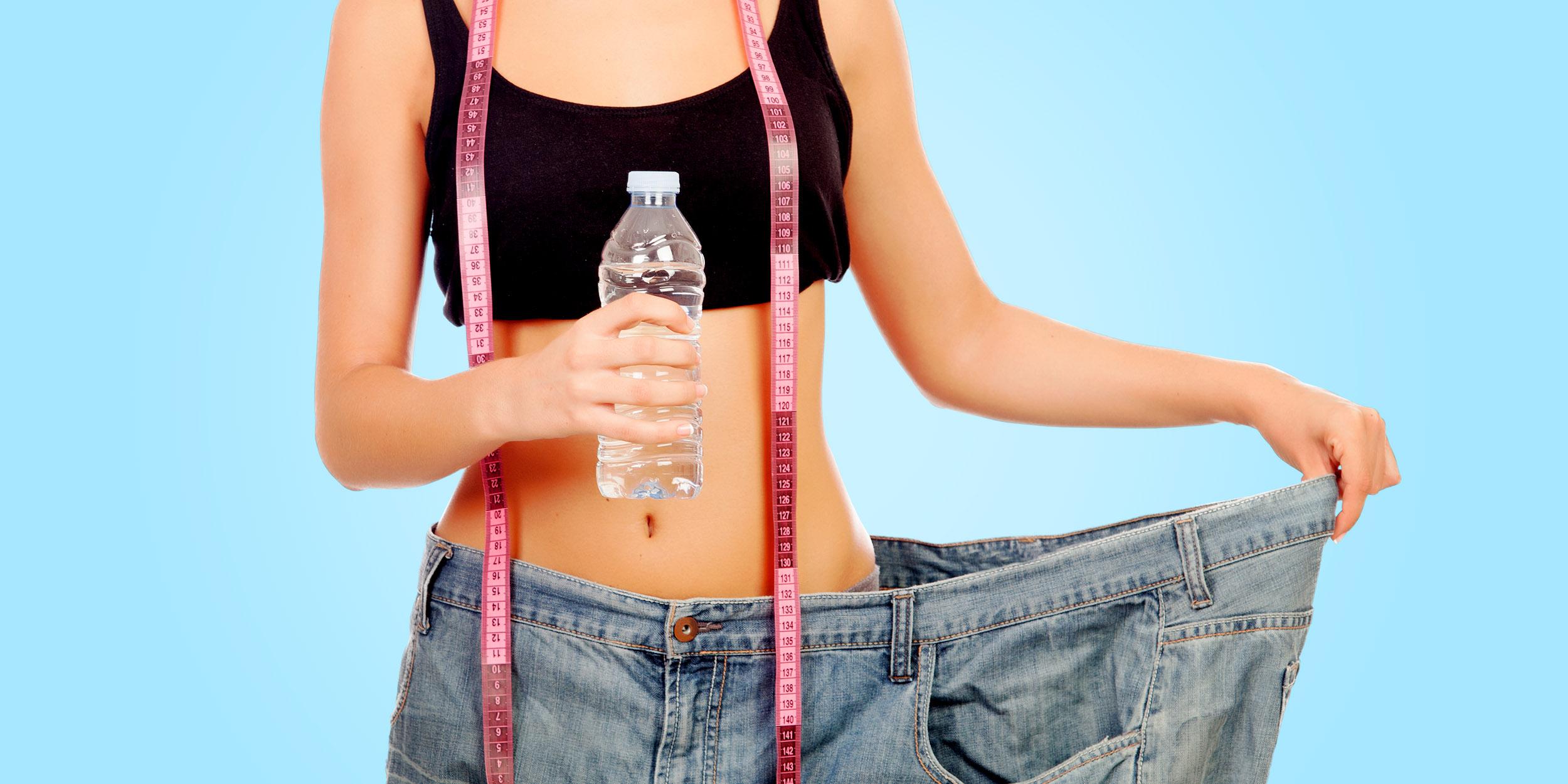 Правда что вода помогает похудеть