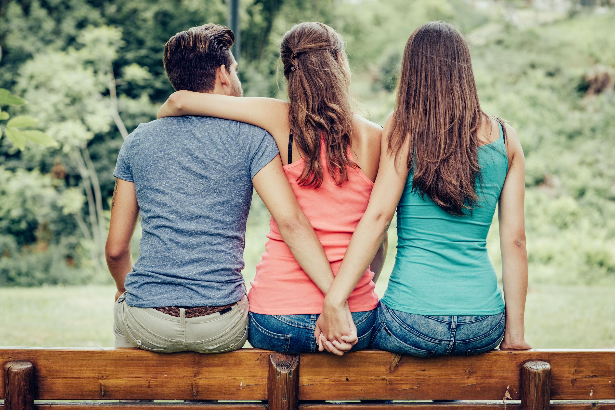 картинка троих друзей сильно