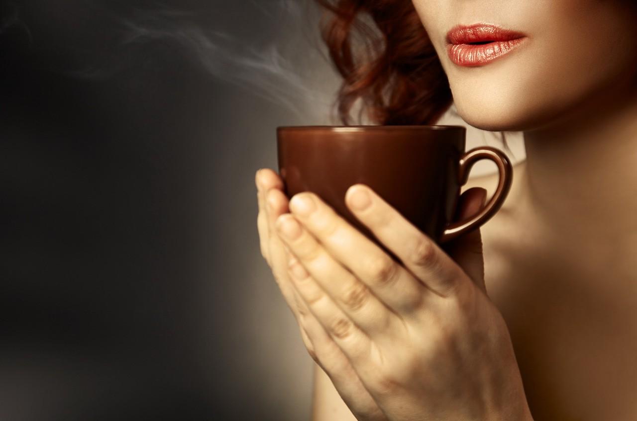 Картинки женщина и кофе, для